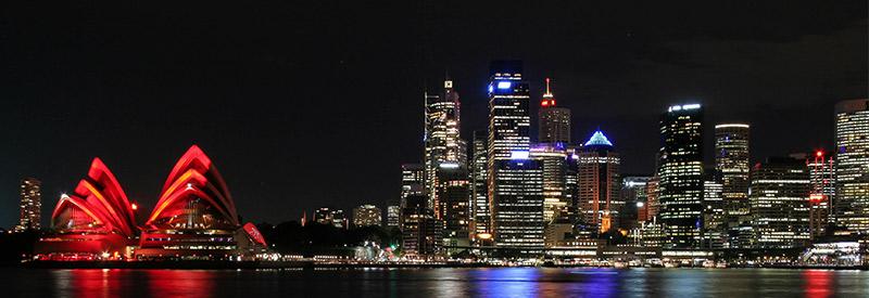 Sydney Opera House Night Photo